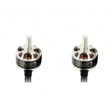Sunnysky R1406 Brushless Motor 3300KV CW CCW for FPV Racing Quadcopter FPV Drone 1Pair Silver