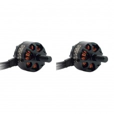Sunnysky R1406 Brushless Motor 3300KV CW CCW for FPV Racing Quadcopter FPV Drone 1Pair Black