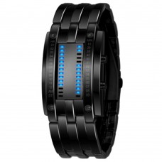 HIgh Technology LED Watch Time Date Novel Birthday Gift for Boyfriend Black