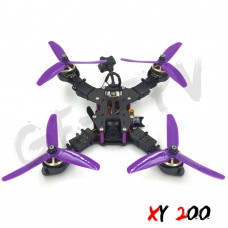 GE FPV XY200 Quadcopter Frame 4 Axis Carbon Fiber RC FPV Racing Drone DIY