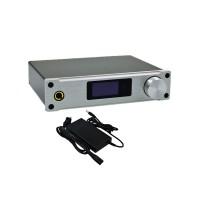 ALIENTEK D8 Hifi Audio Digital Headphone Amplifier 80Wx2 Coaxial Optical USB DAC Class D Amp+Power Supply XMOS Silver