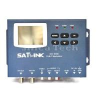 """Satlink Meter 1CH DVB-T Modulator AV Input HDMI Terrestrial Finder 2.4"""" LCD WS6990"""