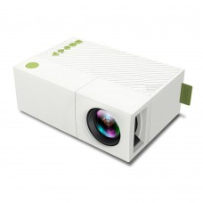 HD 1080P LED Projector 320x240 Home Media Player HDMI USB Interface with Battery YG300 YG310
