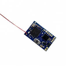 DSM2 DSMX 7CH 2.4Ghz RC Micro Receiver with PPM Output for FPV RC Drone Quadcopter