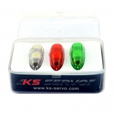 KS-SERVO Night Flying LED Light FPV Wireless LED Light for RC Drone Aircraft Helicopter