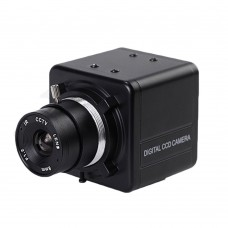 Digital CCD Camera 750TVL HD Surveillance Cam 0.01LUX Focus 2.8mm IR Cut Night Vision