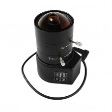 "CCTV Camera Lens 6-60mm Auto Iris Lens Manual Zoom 1/3"" CS F1.6 for Security Camera"