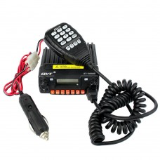 QYT KT-8900R Walkie Talkie Tri Band UHF VHF 25W Car Trunk Ham FM Mobile Radio Transceiver