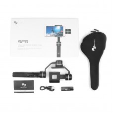 Feiyu SPG 3 Axis Brushless Handheld Gimbal Stabilizer Bluetooth for Smartphone Action Camera