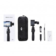 DJI Osmo Mobile 3 Axis Gimbal Handheld Camera Stabilizer PTZ + Tripod + Extension Rod for Smartphone