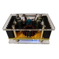 DC DC Step Up Boost Module Adjustable Module LCD Voltage Current Display with Shell Kit