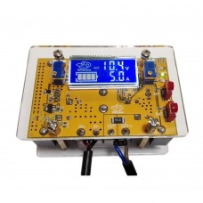 10A DC Step Down Buck Power Supply Module LCD Voltage Current Display with Shell Kit