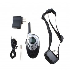 1000 Yard Electric Trainer E-Collar Waterproof Rechargeable Remote Pet Dog Training Collar