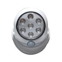 Motion Activated Cordless Light Sensor 7 LEDs Light Indoor Outdoor Garden Wall Patio