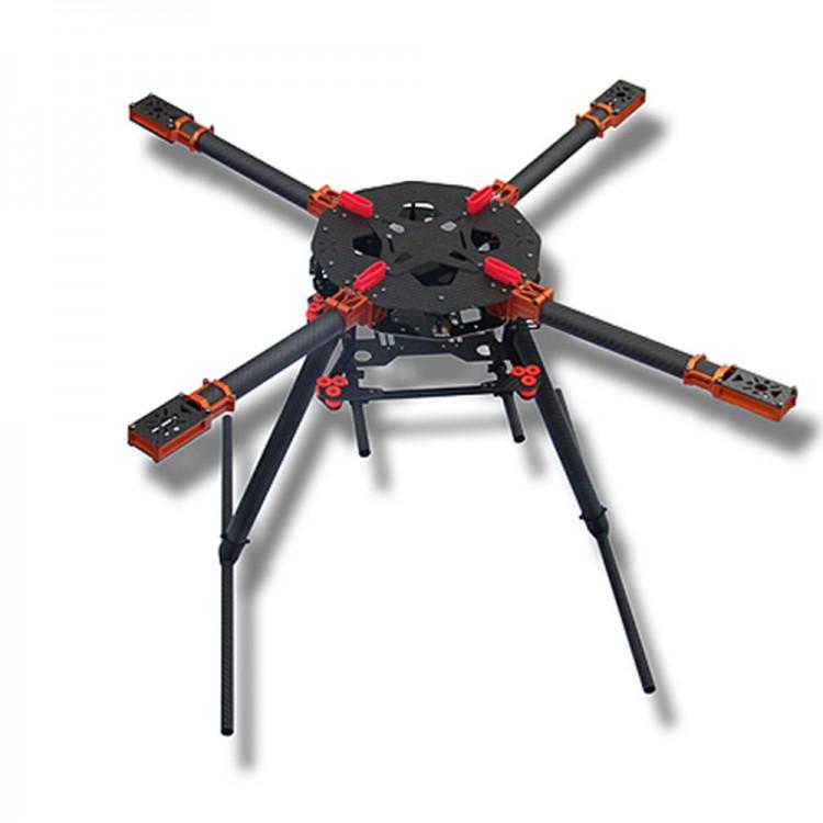 SAGA R750 Umbrella Folding Carbon Fiber Quadcopter Frame for FPV ...