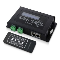 BC-100 DMX512 Light Controller LED Light Strip RGB Control DC9V LCD Display RF Wireless Remote