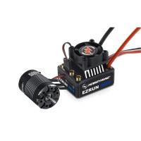 EZRUN 3652SL G2 Brushless Sensorless Motor 3300KV + ESC MAX10 for 1:10 RC Car Truck