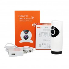 WiFi camera Panoramic IP Camera HD 720P P2P Baby Monitor Cam Wireless IP camera Night Vision EC2