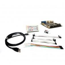 Xilinx FPGA USB Development Board Spartan-6 XC6SLX9 + Download Cable Programmer DIY
