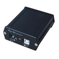 SU0 XMOS U8 USB DAC+ AK4490 Audio Hifi Asynchronous USB Decoder Headphone Amplifier with Power Adapter Black
