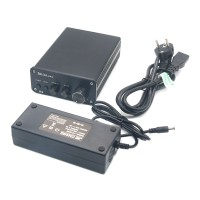 ZHI LAI K9 Digital Amplifer 2x160W High-Power Output high Bass Adjustment Audio Input Amp for Audio with 32V Power Supply