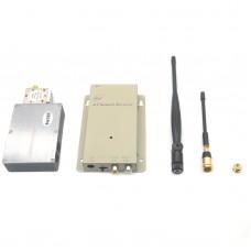 FPV 1.2GHz 5W 6W Reinforced AV Transmission Transmitter & Receiver Set