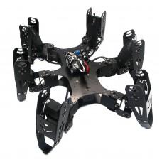 Assembled Robo-Soul CR-6 Hexapod Robotics Six-legged Spider Robot with Controller & Digital Servo