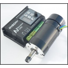 Brushless Motor Driver with Hall Controller CNC + Motor for Spindle Engraving Machine NVBDH+