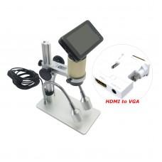 """Andonstar HDMI HD Microscope 3MP 1080P Digital Magnifier Loupe w/ 3"""" Monitor"""