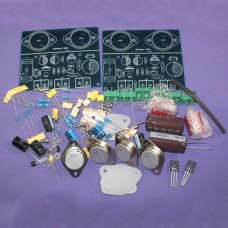 JLH 1969 Audio Power Amplifier Kit Dual Channel CLASS A ST2N3055 AMP DIY