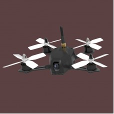 YOUBI Quadcopter 4 Axis Carbon Fiber Drone with Flight Control 600TVL FPV Camera Motor ESC Propeller