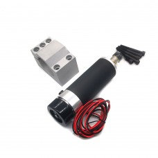57mm Air Cooling DC Spindle Motor with Motor Mount ER16 110V 600W CNC Router Engraving Machine Motor