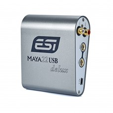 ESI MAYA22 Delux Sound Card 24bit USB Audio Interface Recording Card for Computer