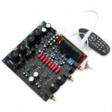 DAC Decoder Board Dual Chip AK4497EQ AK4118 for Audio Power Amplifier DIY with Remote Controller