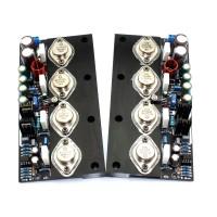 20W Audio Power Amplifier Board MJ5024 MJ5025 DC Class A Radiator Aluminum Plate for DIY 2Pcs