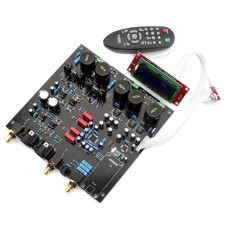 DAC Decoder Board for Audio Power Amplifier with XLR RCA Output Support DOP DSD DIY