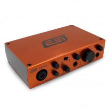 ESI U22XT USB Sound Card Audio 2-in 2-out with ASIO 2.0 for Karaoke Audio Recording