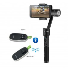 Aibird Uoplay 2 Black 3 Axis Gimbal Stabilizer for Smartphone App Smart Tracking Face Recognition with Remote Controller