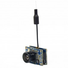 CT25 5.8G 40CH 25MW FPV AV Transmitter with 700TVL Camera 3dB Antenna Telemetry Tx for Quadcopter Drone