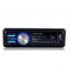 Car Bluetooth Hands Free Call Music Player Stereo MP3 Play FM Radio Support AUX USB SD Card 1010BT