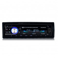Car Audio Stereo Bluetooth DVD CD MP3 Player FM Auto Radio 1 Din Remote Control 2400BT