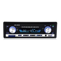 12V Car Stereo FM Radio MP3 Audio Player Support Bluetooth Phone with USB SD MMC Port In-Dash 1 DIN