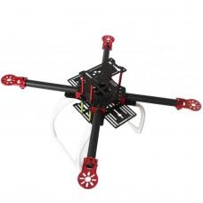 WST FPV Aerial Drones DIY W400 Carbon Fiber Quadcopter Frame UAV Drone Kit