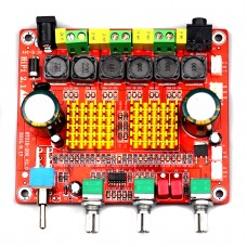 TPA3116D Class D Amplifier Board 2.1 Channel 200W Hifi Subwoofer Digital Amp Assembled