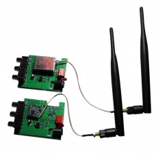 2.3G 2.4G 2.5G Wireless Audio Video Transmitter Receiver 600m with 6dB Antenna