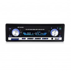 12V Car Stereo FM Radio MP3 Audio Player Support Bluetooth Phone with USB SD MMC Port In-Dash 1 DIN JSD-20158