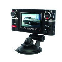 Dual Lens DVR Camcorder Camera 2.7 inch Auto Camcorder Car HD Night Vision Windshield Driving Recorder F30