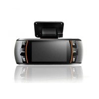 "A1 Car DVR Allwinner Dual Camera Car Black Box HD 1080P Dash Cam Recorder 2.7"" LCD Screen Night Vision"