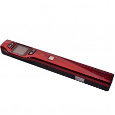 Skypix TSN470 Portable Document A4 Scanner 1050DPI HD Color Screen Support JPEG PDF Red