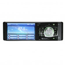 4.1'' Car Radio Bluetooth MP5 Player TFT HD Screen USB SD Support Steering Wheel Remote Control Rear View Camera 4012B